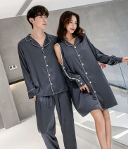 Pajamas / housewear set lovers Other / other Size M - female (for 80-106 kg), size L - male (for 118-155 kg), size XL - male (for 150-175 kg), size L - female (for 106-135 kg) Greyish blue - female, white - female, scarlet - female, greyish blue - male, black - male, haze blue - male, scarlet - male