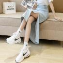 skirt Summer 2021 S. M, l, XL, collection white short T-shirt, limited quantity Light blue skirt, dark blue skirt longuette commute High waist Denim skirt Solid color Type A 18-24 years old Z1092 51% (inclusive) - 70% (inclusive) Denim Other / other cotton pocket Korean version