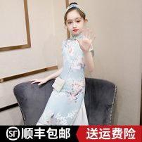 cheongsam 100 110 120 130 140 150 160 Polyester 100% There are models in the real shooting summer Class B Q65 Summer 2020 2 years old, 3 years old, 4 years old, 5 years old, 6 years old, 7 years old, 8 years old, 9 years old, 10 years old, 12 years old, 13 years old, 14 years old Chinese Mainland