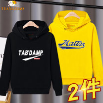 Sweater / sweater Tian Aibao neutral 110cm 120cm 130cm 140cm 150cm 160cm 170cm spring and autumn nothing motion Socket routine There are models in the real shooting cotton Cartoon animation Cotton 83% polyester 17% TLW125-1 Class B Cotton liner Autumn 2020
