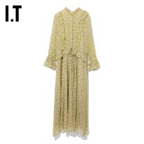 Dress Autumn of 2019 YEx / yellow XS S longuette 25-29 years old I.T ZVXDSCF0403FD More than 95% other Other 100% Same model in shopping mall (sold online and offline)