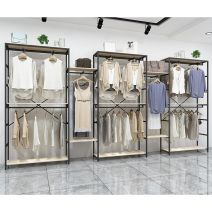 Clothing display rack clothing Metal Official standard 60x40x150cm