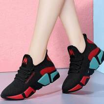 Low top shoes 36 37 38 39 40 The power of Ma Tian Round head cotton Flat bottom Flat heel (1cm or less) Shallow mouth Netting Spring 2016 Frenulum leisure time Youth (18-40 years old) Net shoes motion E83258