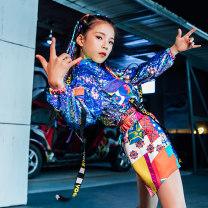Children's performance clothes female 120cm 130cm 140cm 150cm 160cm Pheasant Class B T1748 practice other 5 years old, 6 years old, 7 years old, 8 years old, 9 years old, 10 years old, 11 years old, 12 years old, 13 years old, 14 years old Autumn of 2019 Korean version