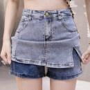 skirt Summer 2021 S M L XL 2XL 3XL 4XL 5XL blue Short skirt Versatile High waist A-line skirt Type A 18-24 years old y-9035 More than 95% Yasuen other Other 100% Pure e-commerce (online only)
