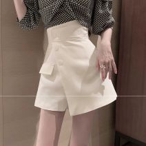 skirt Summer 2020 S, M Skirt black, skirt white, skirt light green, plaid shirt Short skirt commute High waist A-line skirt Solid color Type A 18-24 years old 31% (inclusive) - 50% (inclusive) other Other / other other Korean version