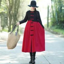 Dress Shangheixiahong-65f, shanghongxiahei-665 female Other / other M,L,XL,2XL Other 100% other other 3 months