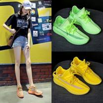 canvas shoe Other / other Low Gang 35,36,37,38,39,40 Summer 2020 Frenulum Korean version rubber Solid color Youth (18-40 years old) Cross bandage