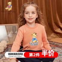 Sweater / sweater CLASSIC TEDDY MINI female 80cm 90cm 100cm 110cm 120cm 130cm 140cm spring and autumn nothing leisure time Socket There are models in the real shooting cotton Cartoon animation Cotton 100% TMT20HY02387 Cotton liner Summer 2020