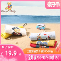 T-shirt CLASSIC TEDDY MINI 80cm 90cm 100cm 110cm 120cm 130cm neutral summer Short sleeve Crew neck leisure time There are models in the real shooting nothing cotton Cartoon animation Other 100% TMT029M10153035 Class A other Summer 2020 Chinese Mainland