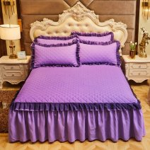 Bed skirt nylon Peacock blue lake blue-o47, ginger yellow-a18, dark green-l30, dark gray-l64, camel-m21, lotus jade-f89, violet-f11, dark brown bean paste-d16, sky blue new lace water blue-e34, light purple new lace purple-c37, Pink New Lace jade-l21, light gray new lace light gray-e62 Other / other