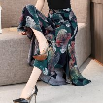 Middle aged and old women's wear Summer 2020 1 3 4 5 6 7 8 9 10 12 13 14 15 16 17 18 19 20 21 22 23 24 XL 2XL 3XL 4XL leisure time trousers easy Decor thin 621MXG Su Yingxue other Viscose (viscose) 100% 96% and above Pure e-commerce (online only) Ninth pants