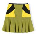 skirt Autumn 2020 M, L Yellow, blue Short skirt commute High waist A-line skirt lattice Type A 71% (inclusive) - 80% (inclusive) knitting other zipper Korean version