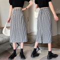 skirt Summer 2021 S M L XL black Mid length dress commute High waist A-line skirt lattice Type A 18-24 years old NDF3614 More than 95% Newtivan other Korean version Other 100% Pure e-commerce (online only)