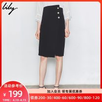 skirt Summer of 2019 XS S M L XL 510 black 510 black (second batch) 510 black (third batch) 510 black (Fourth Batch) 510 black (Fifth Batch) 510 black (Sixth Batch) 510 black (Seventh Batch) Mid length dress commute High waist Suit skirt Solid color Type O 25-29 years old 119229C6931 other Ol style