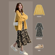 Women's large Autumn 2020 S M L XL XXL 3XL 4XL Two piece set commute Korean version 18-24 years old Other 100% Pure e-commerce (online only)