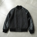 Jacket Kitano u house Youth fashion Grey, Navy S,M,L,XL,2XL,3XL,XS,4XL routine standard Other leisure autumn Long sleeves Wear out stand collar tide youth routine Single breasted Rib hem No iron treatment Closing sleeve Solid color Rib bottom pendulum Side seam pocket