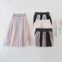 skirt 90, 100, 110, 120, 130, 140, 150, 160, l (MOM) Black, gray, white, pink Other / other female Polyester 85% other 15% No season skirt other other A-line skirt other