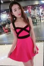 Dress Spring of 2018 Rose red-o80, white-b01, pink-a15, blue-i89, black-x07 Average size Short skirt singleton  commute V-neck middle-waisted Solid color Socket A-line skirt camisole Open back, stitching GcQf5ax7