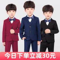 Suit / Blazer 90cm 100cm 110cm 120cm 130cm 140cm 150cm 160cm 170cm Clothing warehouse male There are models in the real shooting Korean version No season Solid color Single breasted routine Class B Polyester 80% viscose 20% YC173 Winter of 2019