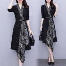 Women's large Spring 2021 black Large XL, large XXL, large XXL, large XXXXL, large XXXXL, large L Dress