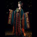 Hanfu 91% (inclusive) - 95% (inclusive) Autumn 2020 On the front of Ru, Hezi skirt, big sleeve shirt S,M,L,XL polyester fiber