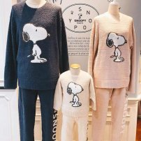 Pajamas / housewear set Parenting Other / other Average size Polyester (polyester) Cartoon