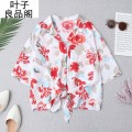 shirt Picture color L,M,S,XS Summer 2021 other 30% and below Short sleeve street other other other other 30-34 years old Other / other Stitching, printing, bowing, cardigan, printing / dyeing blending