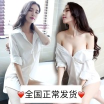 shirt White perspective [high-quality chiffon fabric], red perspective [high-quality chiffon fabric], black perspective [high-quality chiffon fabric], pink perspective [high-quality chiffon fabric], and generally can be worn out [high-quality chiffon fabric] other 51% (inclusive) - 70% (inclusive)