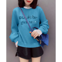 Sweater / sweater Spring 2021 blue S M L XL Long sleeves have cash less than that is registered in the accounts Socket Fake two pieces routine Crew neck Straight cylinder street routine letter 30-34 years old 96% and above Miheng other BB211v15374p1270 Other 100% Pure e-commerce (online only)