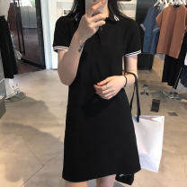 Women's large Summer 2021 Picture color L XL S M commute Short sleeve Korean version other other other Yziyni / izzini 18-24 years old 96% and above Middle-skirt Other 100% Same model in shopping mall (sold online and offline)