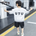 T-shirt White (cotton thin utu) black (cotton thin utu) Wood ant (mother and baby) male summer elbow sleeve Crew neck Hip hop There are models in the real shooting nothing cotton Solid color Cotton 95% polyurethane elastic fiber (spandex) 5% Class B other Summer 2020 Chinese Mainland