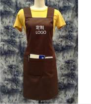 apron Sleeveless apron waterproof Korean version pure cotton Personal washing / cleaning / care Average size public yes Solid color