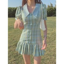 Latin bottom female S,M,L Green, collection and purchase Pleated skirt other