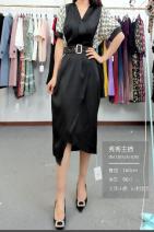 Dress Spring 2021 Yellow black, letter black, ink black M,L,XL