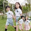 School uniform / school uniform customization neutral You Miao summer college Class B Socket KL-2112 cotton Short sleeve + pants Summer 2021