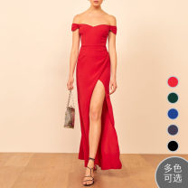 Dress Summer 2020 Black, green, blue, red, dark blue US 0,US 2,US 4,US 6,US 8,US 10,US 12 longuette singleton  Sweet other Other / other 51% (inclusive) - 70% (inclusive) other other