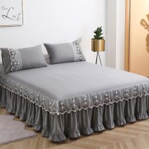 Bed skirt Others Other / other Solid color Qualified products Mid6850