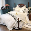 Bedding Set / four piece set / multi piece set 4 pieces other 60 cotton Solid color Other Dream after dream 200x95 Bed skirt Qualified products Princess style cotton 100% satin-like cotton fabric Reactive Print