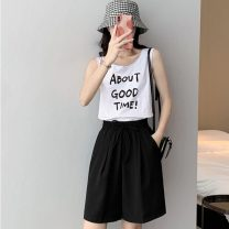 Women's large Spring 2021 Grey Black Pink S [75-85 Jin] m [85-95 Jin] l [95-110 Jin] XL [110-130 Jin] 2XL [130-150 Jin] 3XL [150-170 Jin] 4XL [170-200 Jin] trousers singleton  commute easy moderate Solid color Korean version MKD-XD6819 Mikedo 18-24 years old Other 100% Pure e-commerce (online only)