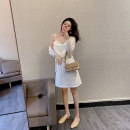 Fashion suit Spring 2021 S M White knitted cardigan + white suspender skirt Mai Xiayuan 0406-3009+1188 Polyester 85% other 15% Pure e-commerce (online only)