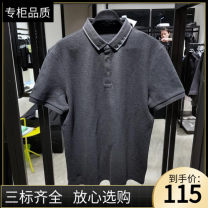 Polo shirt Jiang Taiping and niaoxiang Youth fashion routine grey S,M,L,XL,2XL Self cultivation business affairs summer Short sleeve B1DBB2326 tide routine Cotton 100% 2021 cotton Embroidery More than 95%