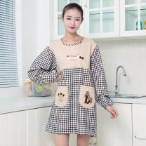 apron Sleeve apron antifouling Korean version other Personal washing / cleaning / care Average size public Cartoon