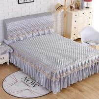 Bed skirt Others Flower Fairy - Beige, flower fairy - gray, flower fairy - pink, flower fairy - gold, flower fairy - purple, flower fairy - light purple, flower fairy - light green, flower fairy - coffee, flower fairy - blue Other / other Solid color Qualified products 2020cq04