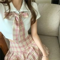 shirt G10 top with collar, t58 skirt, H86 suit [top and tie + skirt] S,M,L other 31% (inclusive) - 50% (inclusive) Short sleeve Other / other R10843