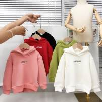 Sweater / sweater Yixiguo neutral 80cm 90cm 100cm 110cm 120cm 130cm winter No detachable cap leisure time Socket thickening No model cotton Solid color Other 100% Class B