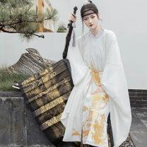 Hanfu 96% and above Autumn 2020 Women's horse face skirt, men's horse face skirt XS spot, s spot, m spot, l spot, XL spot polyester fiber