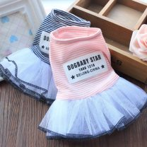 Pet clothing / raincoat currency skirt XS S M L XL XXL Hanbei bear leisure time