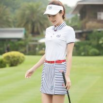 Golf apparel Top white-8o5 S,M,L,XL female Other t-shirt  Y9832