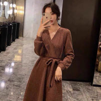Scarf / silk scarf / Shawl other Brown m Brown l Brown XL Black s black m black l Black XL Brown s Spring and autumn and winter female Korean version Yugou A244 Spring 2021